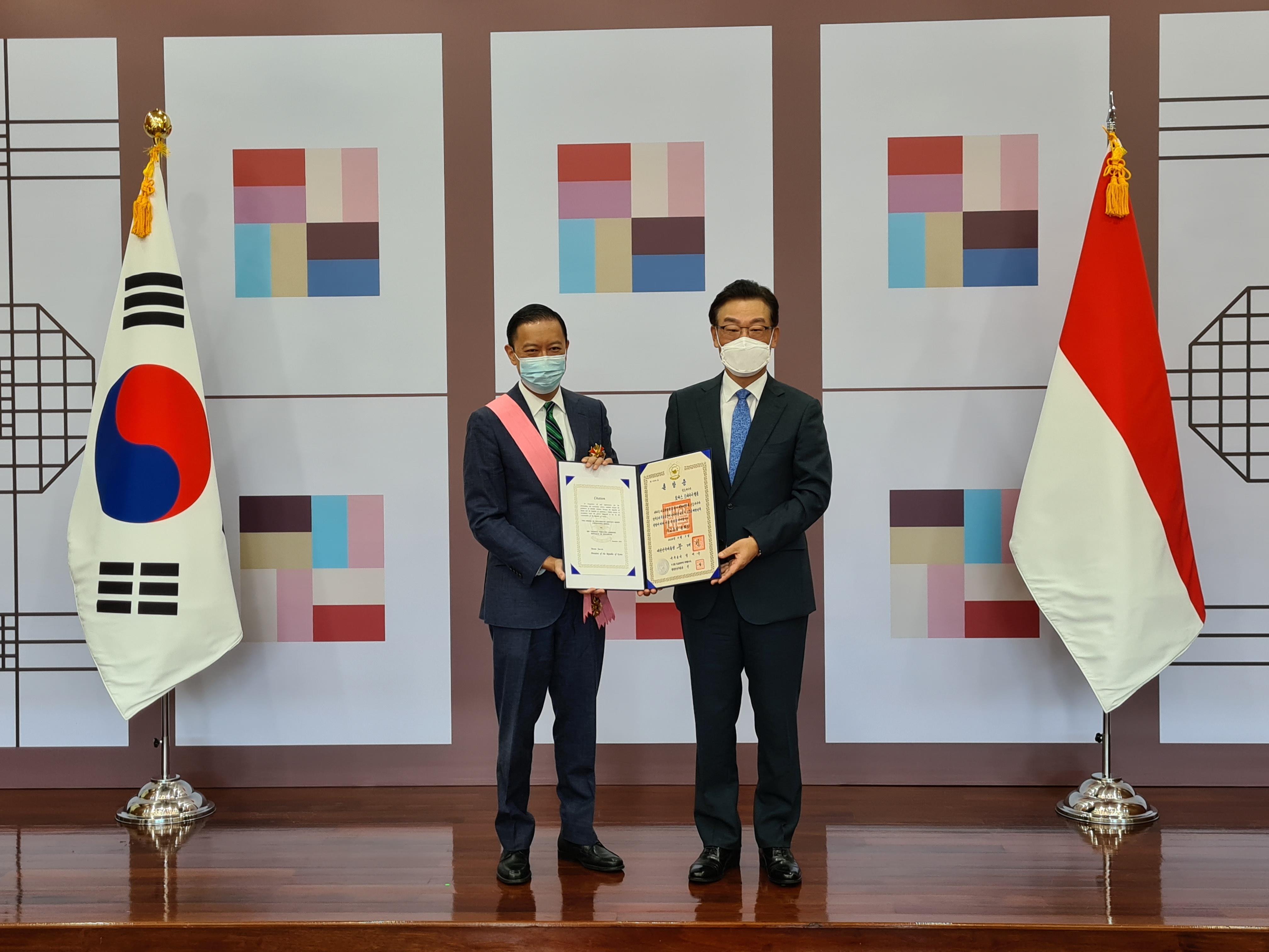 Penghargaan Thomas Lembong (saungkorea.com)