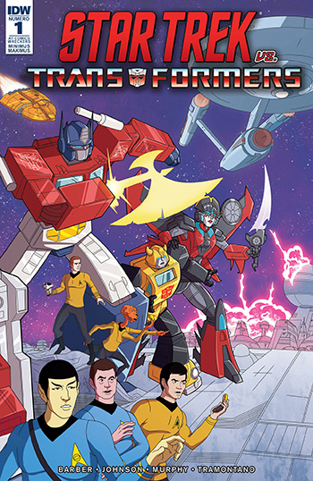[IDW] [2018] Star Trek vs TransFormers