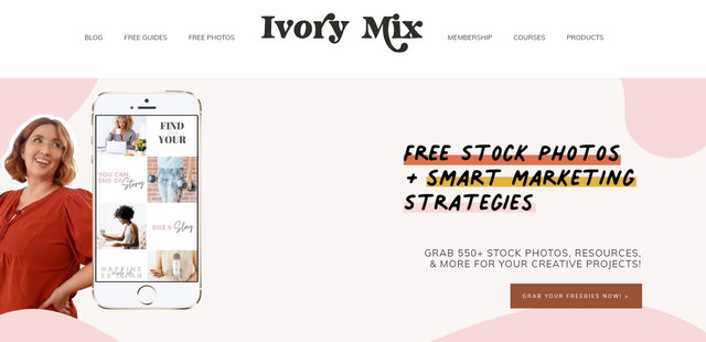 Ivory Mix - 12 Best Free-Stock Photo Sites - Hotcopy