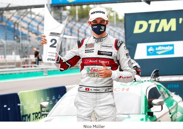 DTM – René Rast remporte le podium Audi au Lausitzring A204838-medium