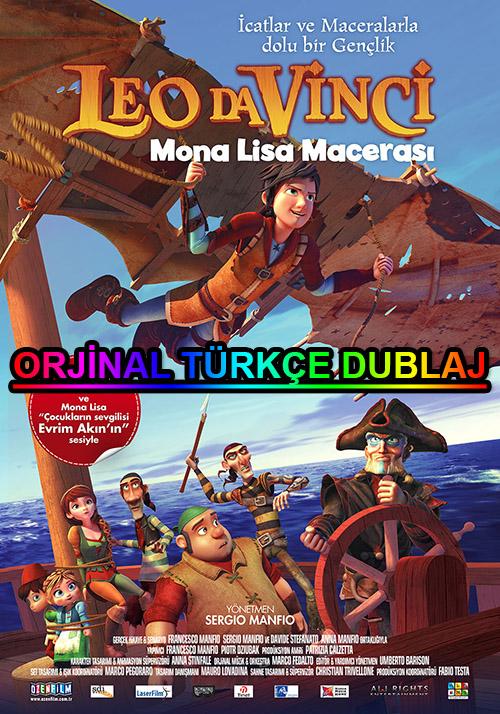 Leo da Vinci: Mona Lisa Macerası | 2018 | BDRip | XviD | Türkçe Dublaj | m720p - m1080p | BluRay | Dual | TR-EN | Tek Link