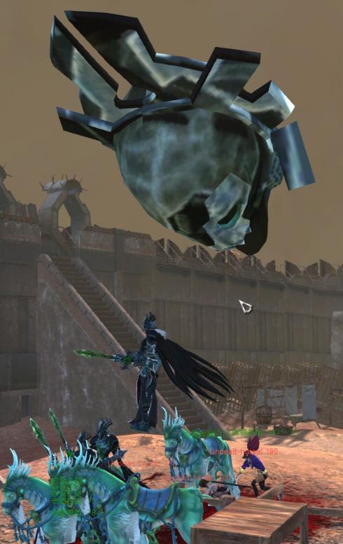 Undead knight/Рыцарь-нежить (RU)