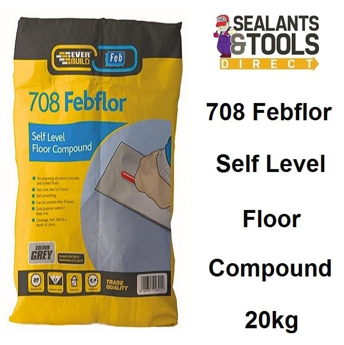 Everbuild 708 Febflor Self Level Floor Levelling Compound SEL20