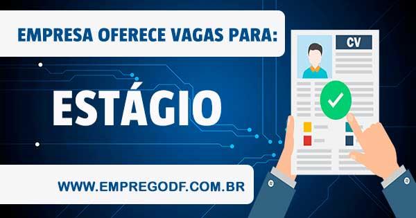 VAGA DE ESTÁGIO COM O SALÁRIO DE R$ 450,00