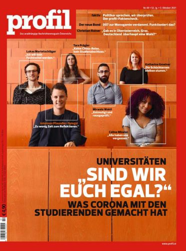 Cover: Profil Nachrichtenmagazin No 40 vom 03  Oktober 2021