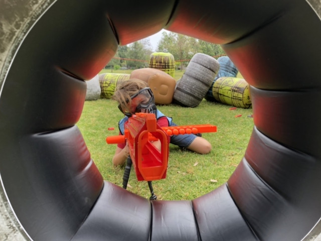 Player looking to snipe in our Fortnite Birthday Party on April 28th in Valley Village