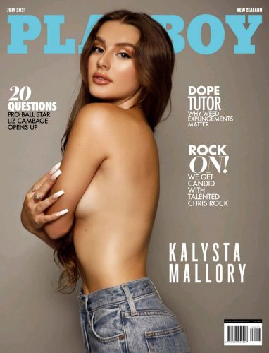 Cover: Playboy New Zealand – July 2021