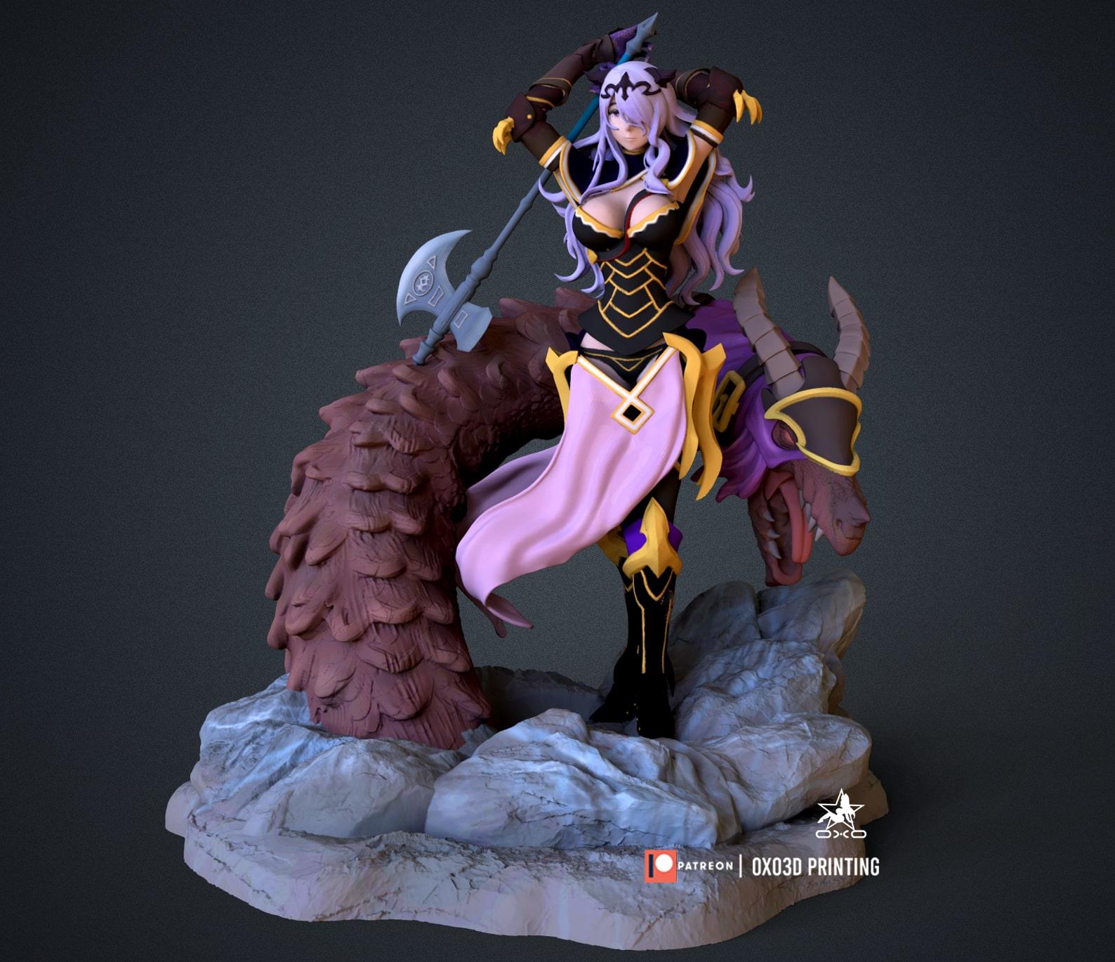 Camilla 3D Print STL - Fire Emblem