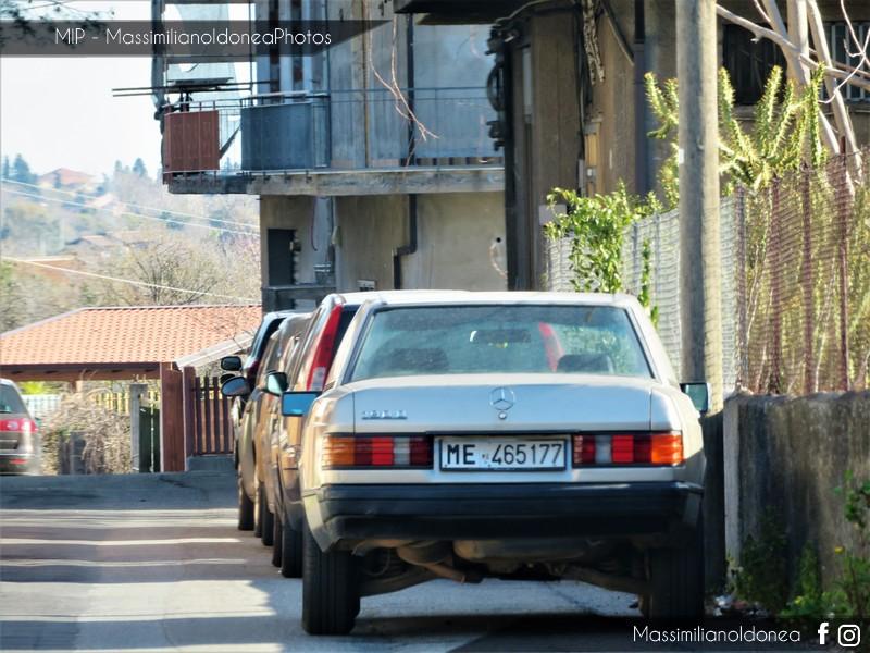 avvistamenti auto storiche - Pagina 13 Mercedes-W201-D-2-0-72cv-88-ME465177-211-497-18-3-2019