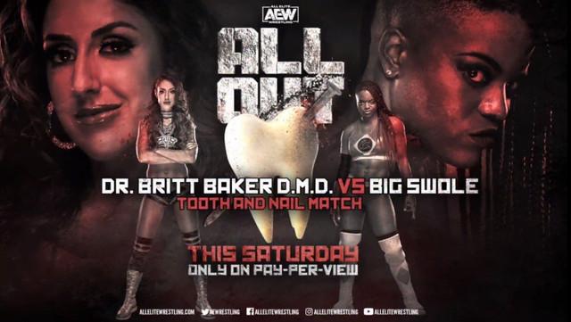 Big Swole vs. Britt Baker