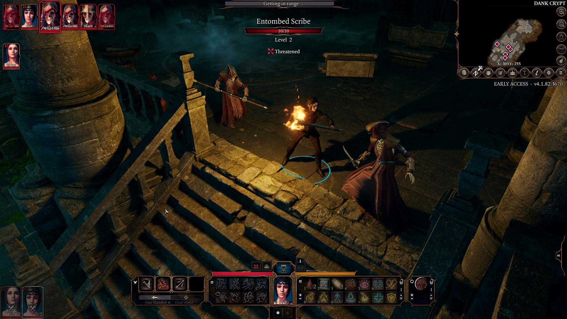 Combat-Undead-Tomb-Fight