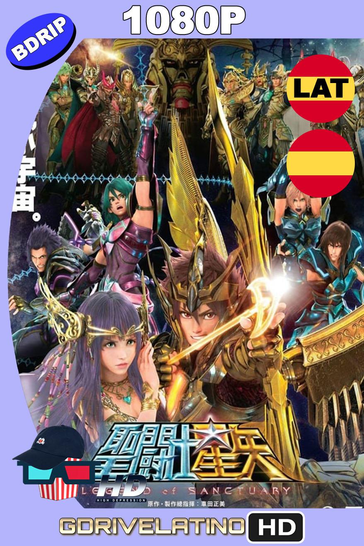 Saint Seiya: Los Caballeros del Zodiaco La leyenda del Santuario (2014) BDRip 1080p Latino-Castellano-Japonés MKV