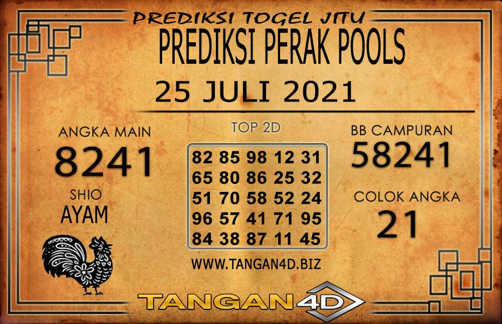 PREDIKSI TOGEL PERAK TANGAN4D 25 JULI 2021