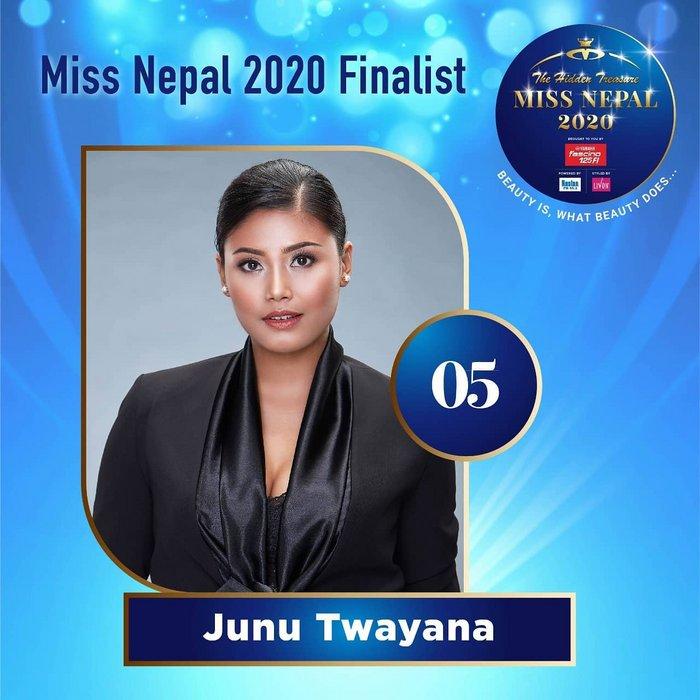 CANDIDATAS A MISS NEPAL 2020. FINAL 3 DE DICIEMBRE. 5-5