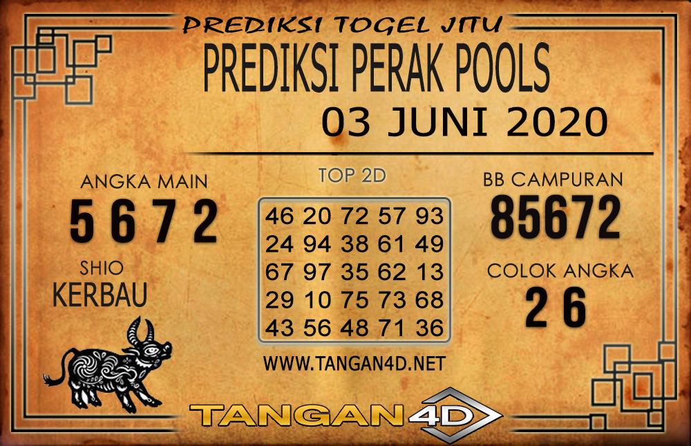 PREDIKSI TOGEL PERAK TANGAN4D 03 JUNI 2020
