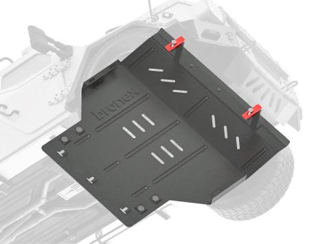 стальная защита двигателя Бронекс