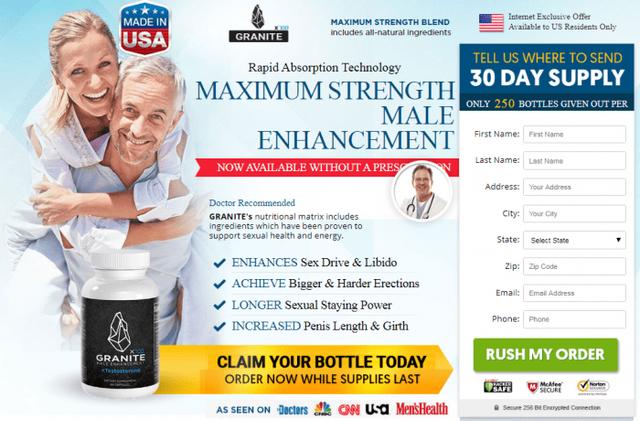 Granite-Male-Enhancement-Offers