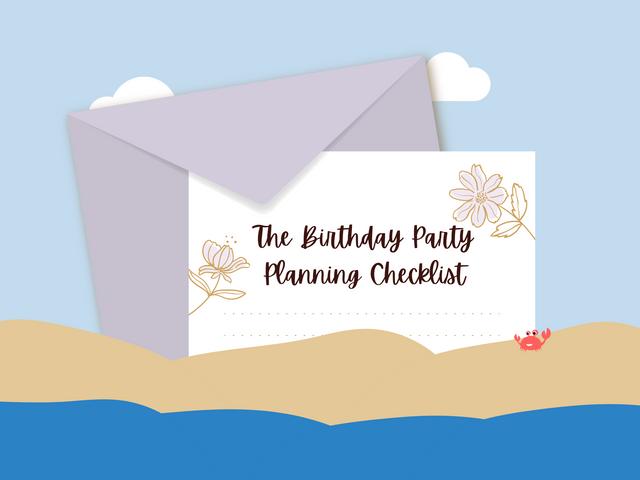 The-Birthday-Party-Planning-Checklist