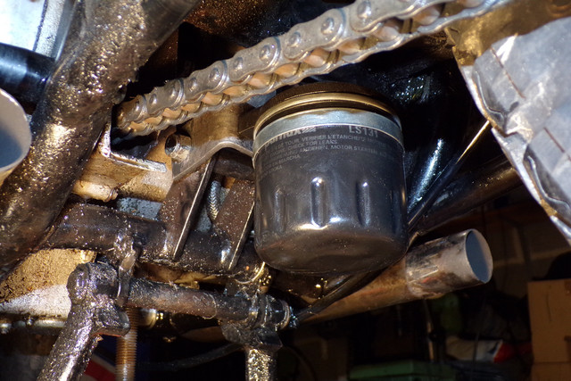 ajout filtre à huile externe sur B33 et sur A65 100-1208