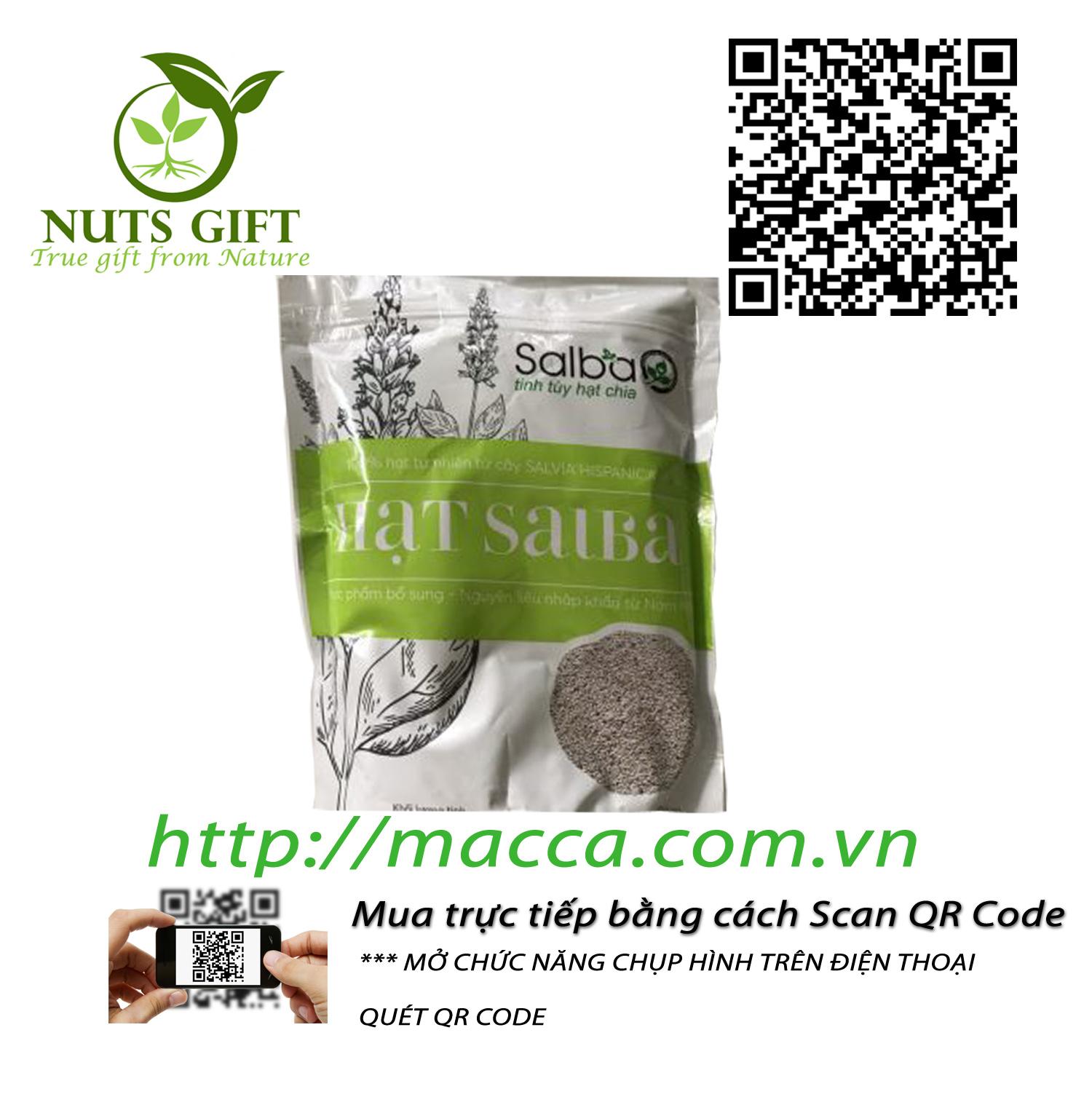 Hạt Chia Salba – Nutshealth – 500Gr