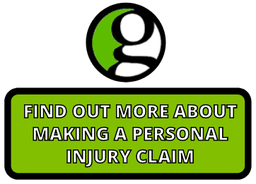 personal injury claims button
