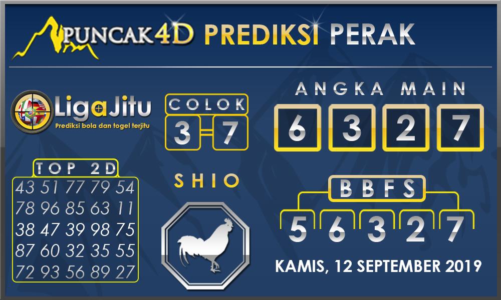 PREDIKSI TOGEL PERAK PUNCAK4D 12 SEPTEMBER 2019