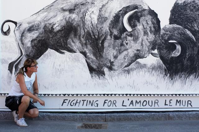 The highness Spray-it väggen month konstjord