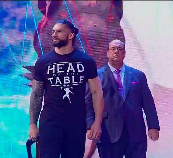 Roman Reigns y Paul Heyman SmackDown 22 Enero