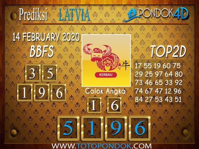 Prediksi Togel LATVIA POOLS PONDOK4D 14 FEBRUARY 2020