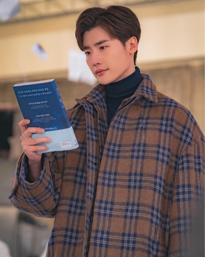Still Cuts Of Lee Jong Suk In Romance Is A Bonus Book