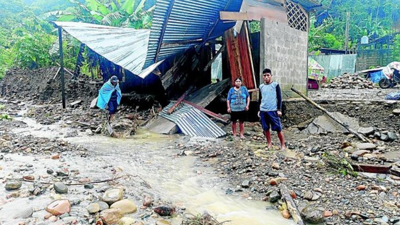 Alarma en Carabaya por crecida del río Inambari