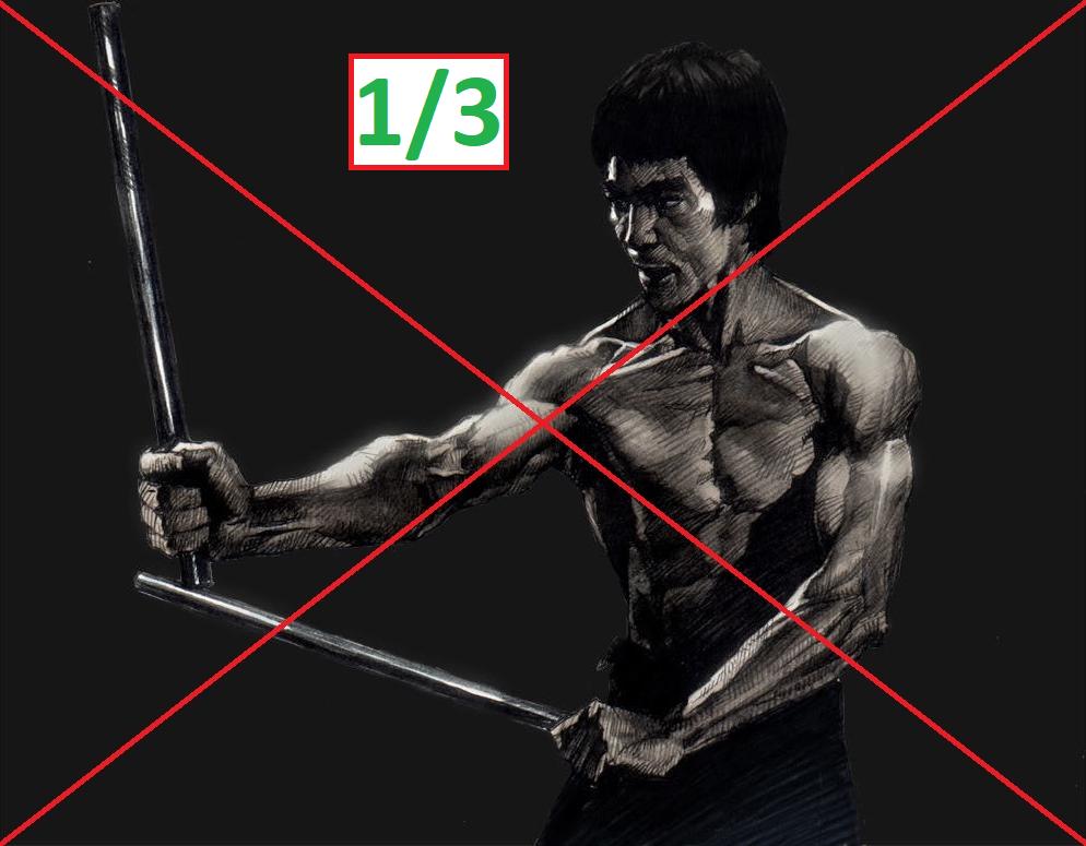 Martial Arts Not Everywhere (One Third) / Боевые искусства не у всех(одна третья)