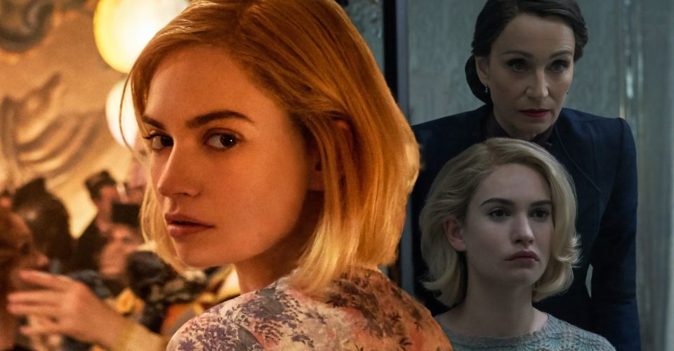 Lily-James-Rebecca-Netflix