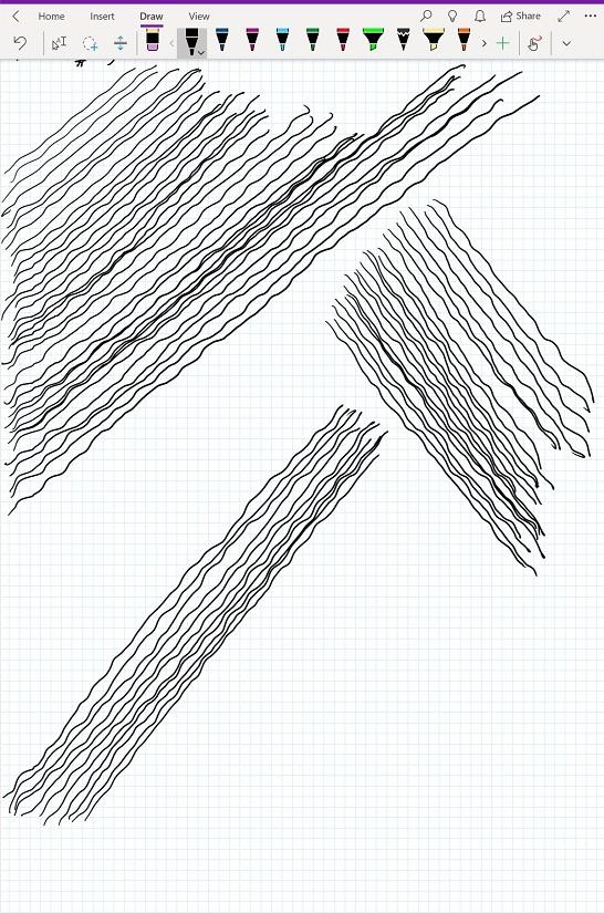 Bamoboo Ink + Dell Venue 5855 Pro waviness problem - Wacom