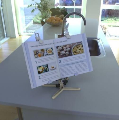 Recipe Book / iPad / Tablet Holder - Cool Things to 3D Print