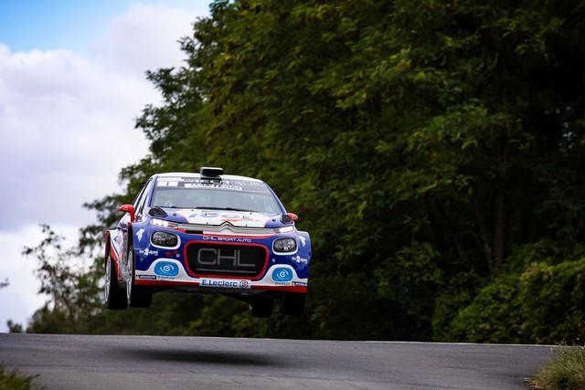 Doublé Pour C3 R5 En France Avec Yoann Bonato & Jean-Baptiste Franceschi Y-Bonato-CDF-20-11