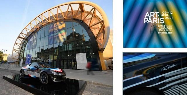 L'A110 x Felipe Pantone s'expose au Art Paris Alpine-investit-le-parvis-du-grand-Palais-Eph-m-re