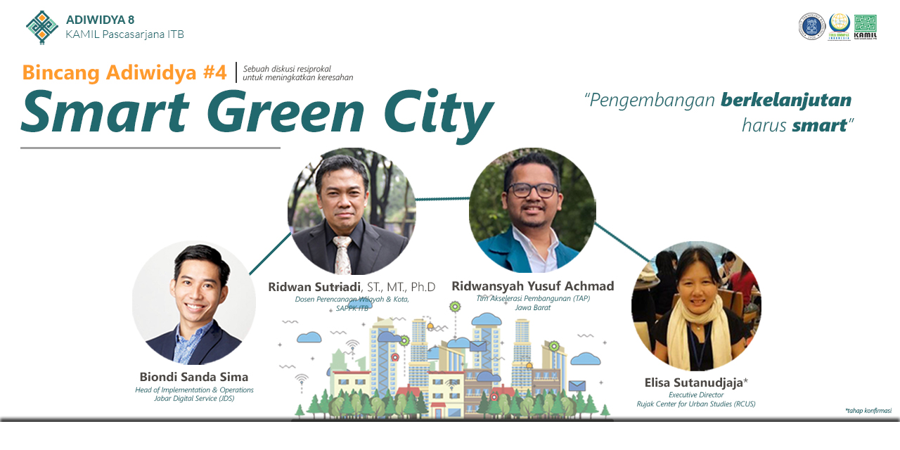 Bincang Adiwidya 4 - Smart Green City