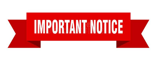 important-notice-ribbon-banner-sign-153821219