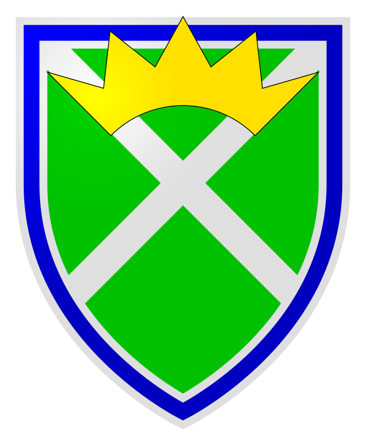 Reeland — new coat of arms, with crown