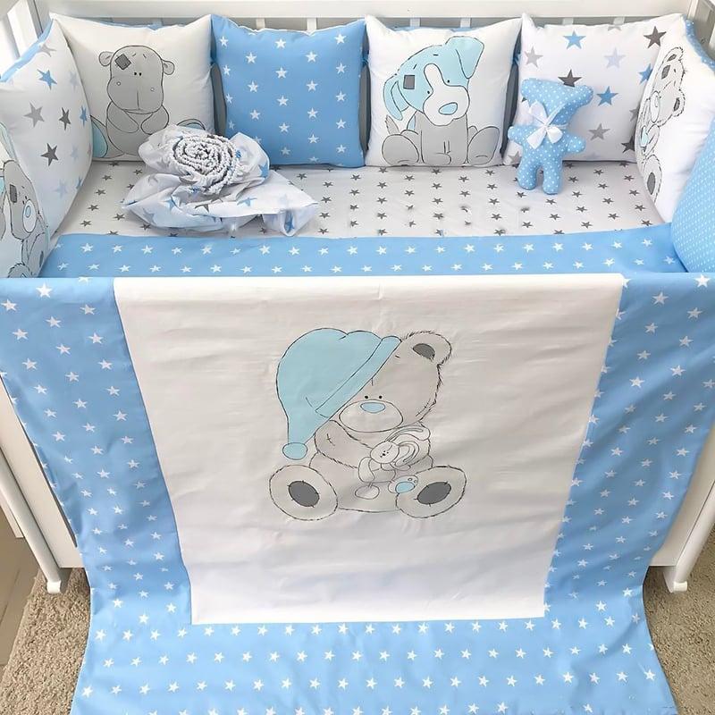 Бортики в кроватку новорожденным на заказ