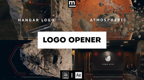 Hangar Logo Opener 32861674 - Project for After Effects (Videohive)