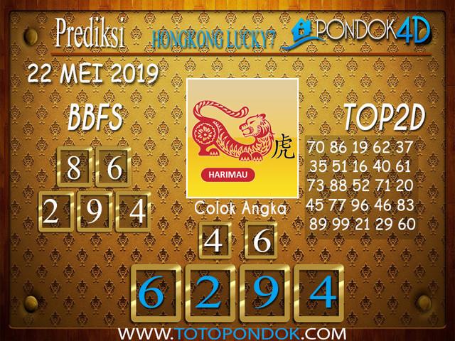 Prediksi Togel HONGKONG LUCKY 7 PONDOK4D 22 MEI 2019