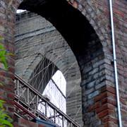Brooklyn Bridge from a Warehouse