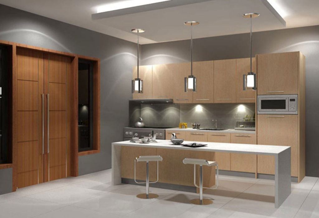 Golden Grove Home Modern Kitchen Design