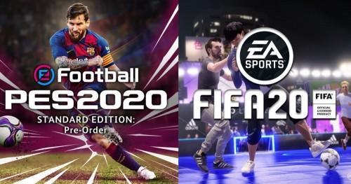 Sebelum Beli, Berikut Perbedaan Antara FIFA 2020 dan PES 2020