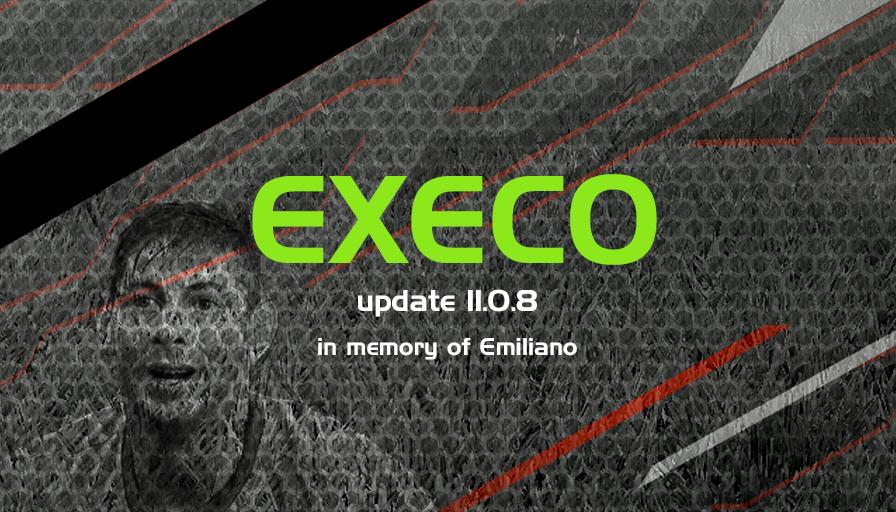 EXECO19 version 11.0.8