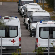 file-photo-ambulances-are-seen-parked-outside-a-hospital-for-patients-infected-with-coronavirus-dise