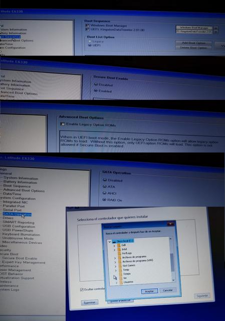 Qué estoy haciendo mal al instalar Windows 10 desde un pendrive?