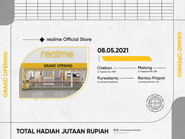 Grand-Opening-Empat-realme-Official-Store